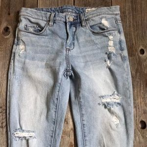 BLANKNYC Denim Distressed Skinny Jean